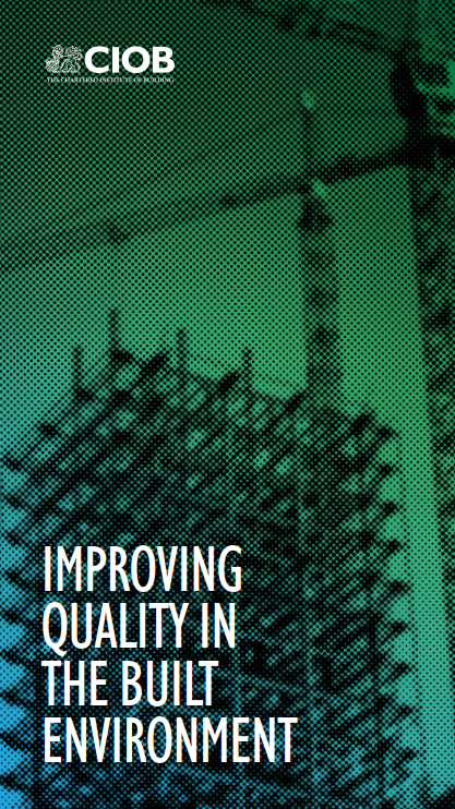 CIOB_Improving Quality